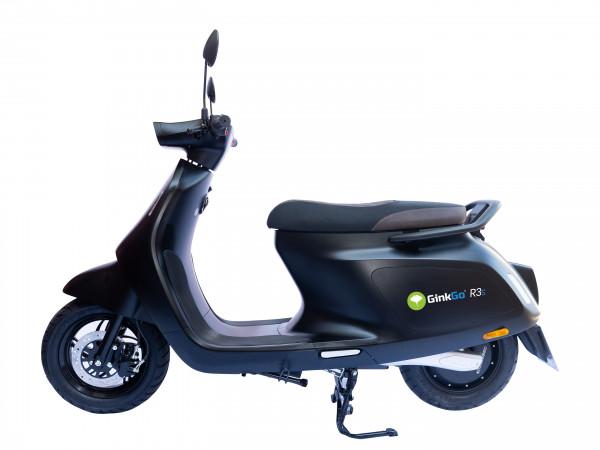 GinkGo R3s Elektro-Motorroller in Night-Black