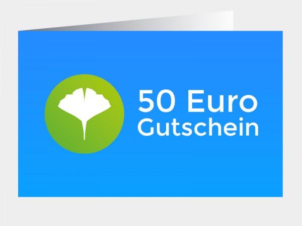 Gutschein 50 Euro (als PDF via E-Mail)