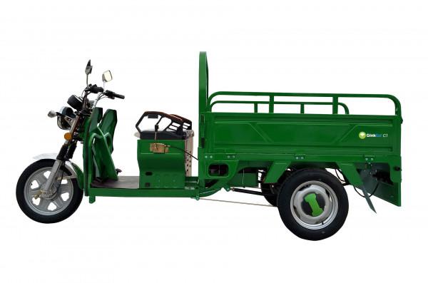 GinkGo C1 E-Cargo Lasten-Roller / Trike - (Version grün - Bleiakku)