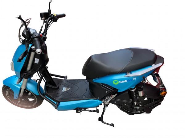 GinkGo R1 Elektroroller bis 45 km/h, blau