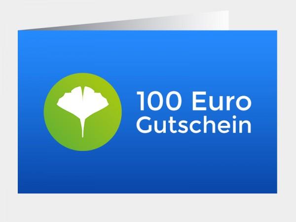 Gutschein 100 Euro (als PDF via E-Mail)